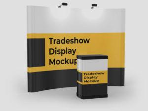 Trade Show Display Mockup