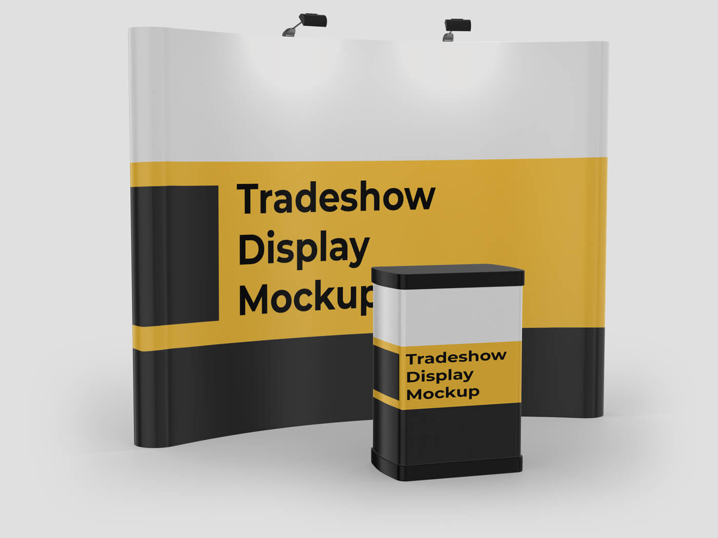 Tradeshow Display Mockup 1