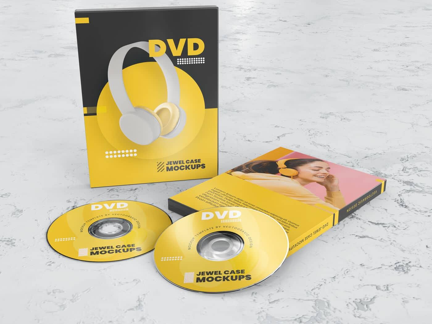 DVD Case Mockups
