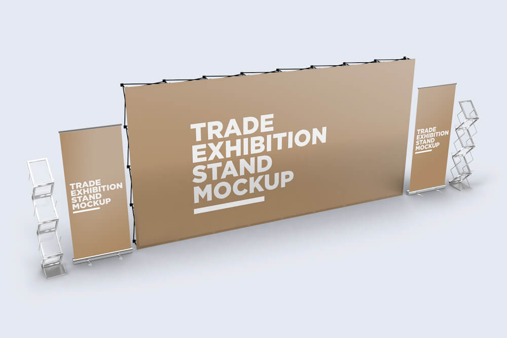 Trade Exhibition Stand Mockup 01