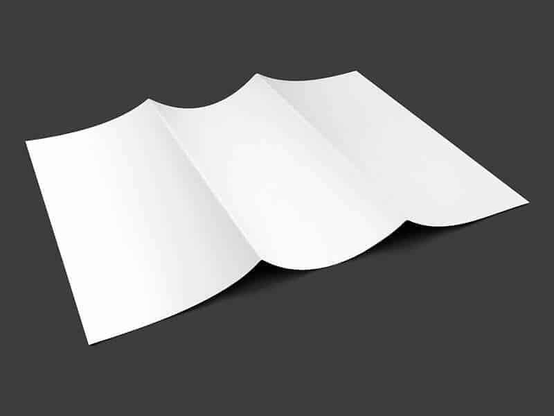 free tri-fold mockup