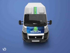Van Cargo Mockups