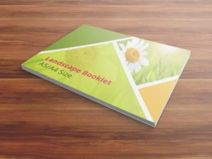 Booklet Mockups - A5/A4 Size
