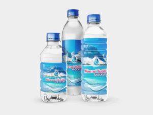 Free Mineral Bottles Mockups