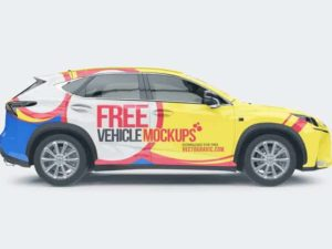 Free Vehicle Mockups