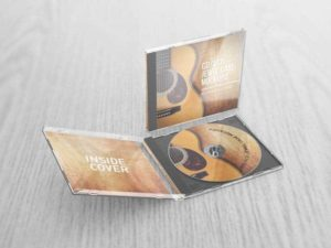 CD VCD Jewel Case Mockups v2