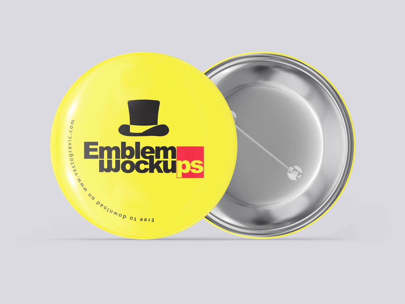 Emblem Badge Mockups