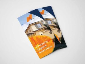 Real Estate Tri-Fold Brochure Template