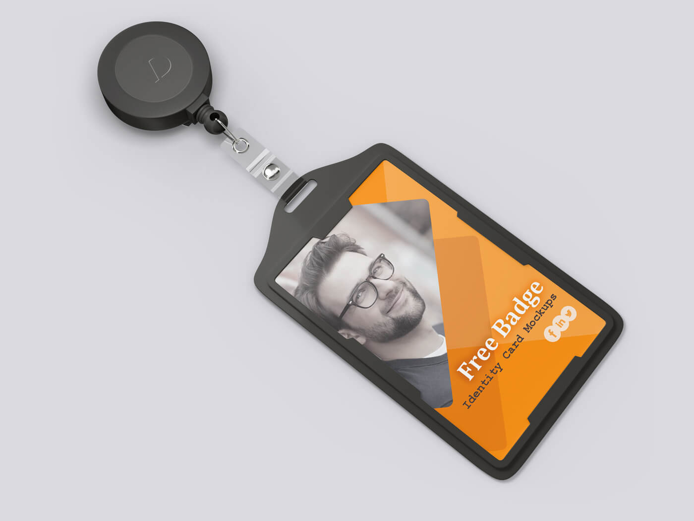 Badge Identity Card Mockups