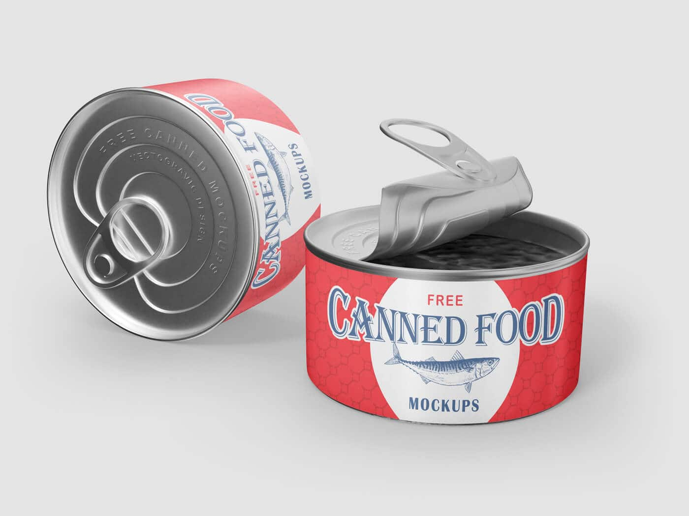 Canned Food Mockup