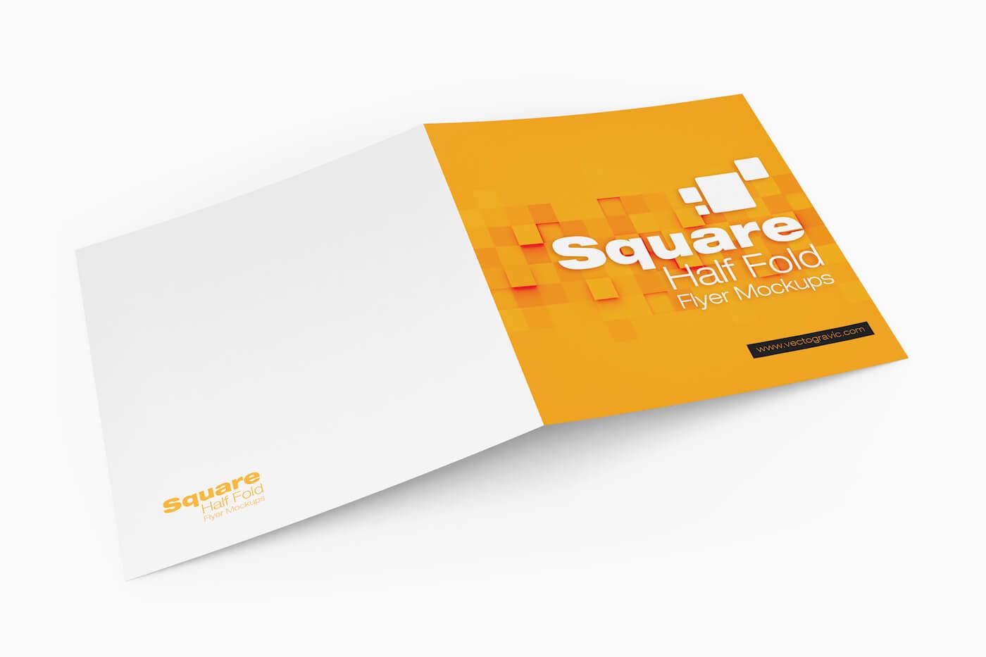 Square Half Fold Brochure Mockups 03 1