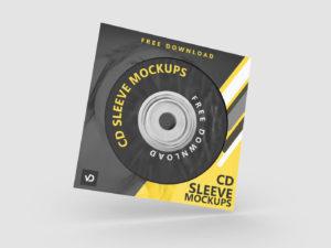CD Sleeve Mockups