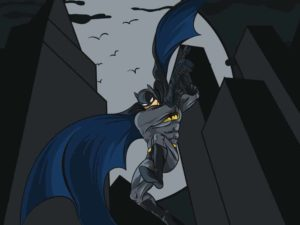 Batman Cartoon Illustration