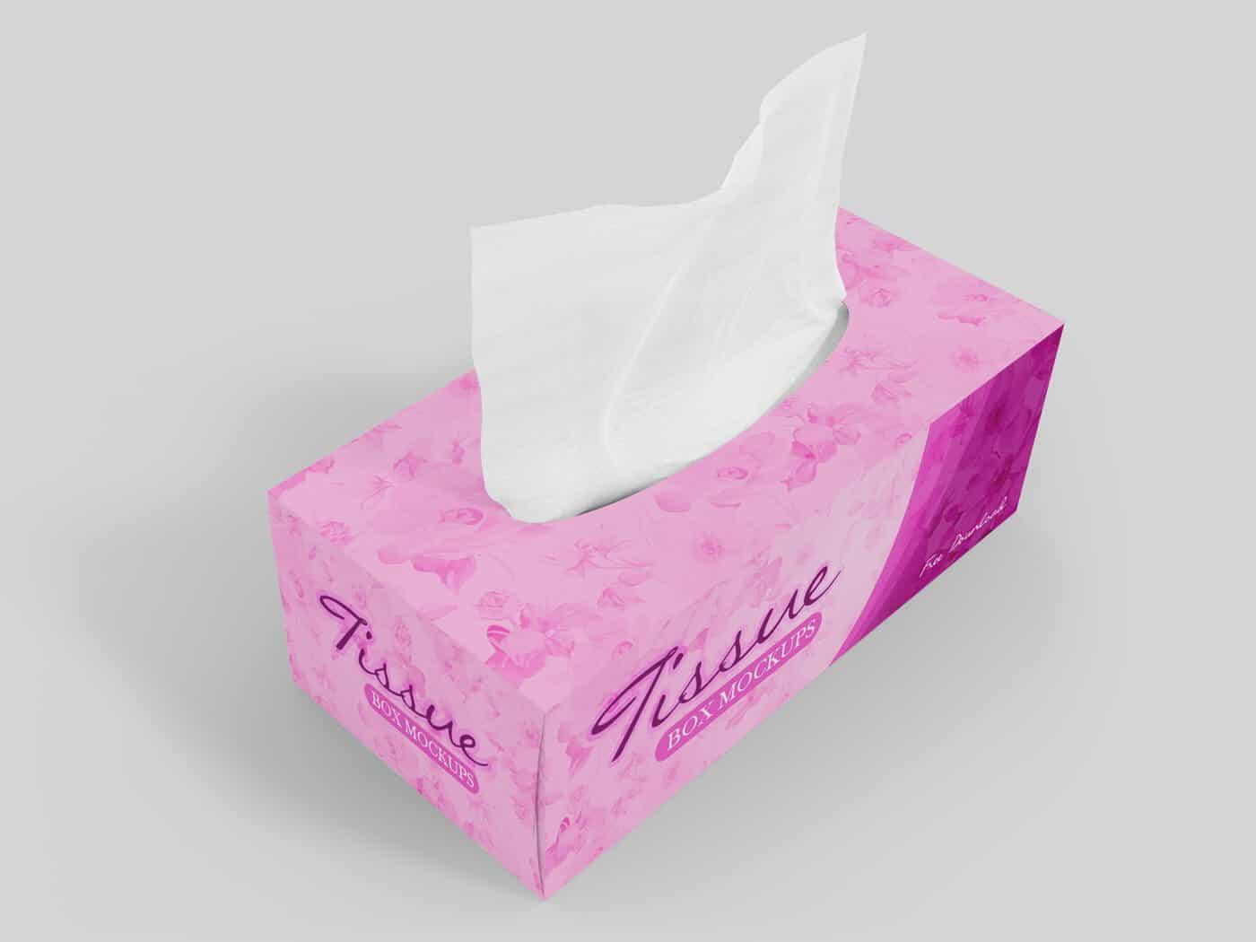 Tissue Box Mockup 01