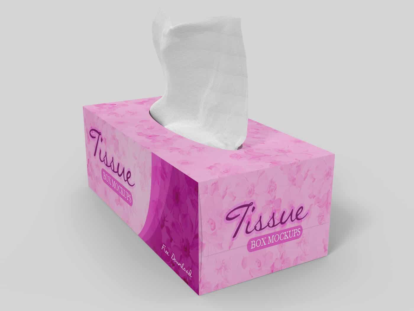 Tissue Box Mockup 02