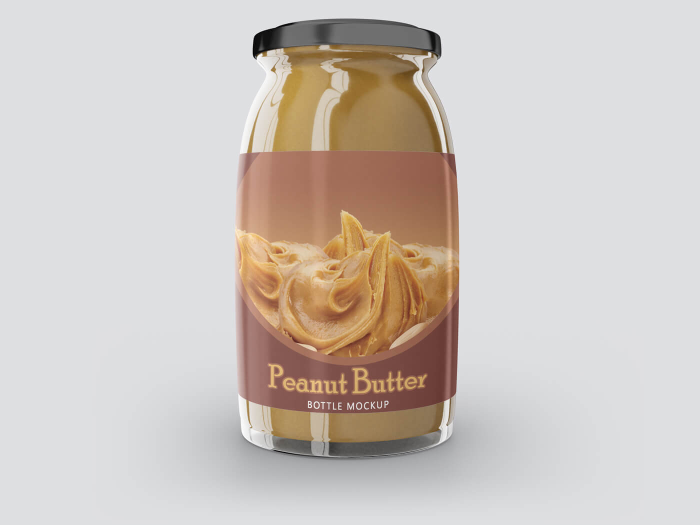 Peanut Butter Container Mockups