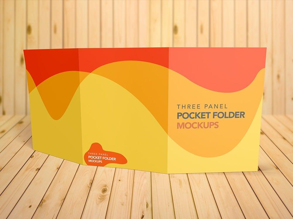 Three Panel Presentation Folder 9″x12″