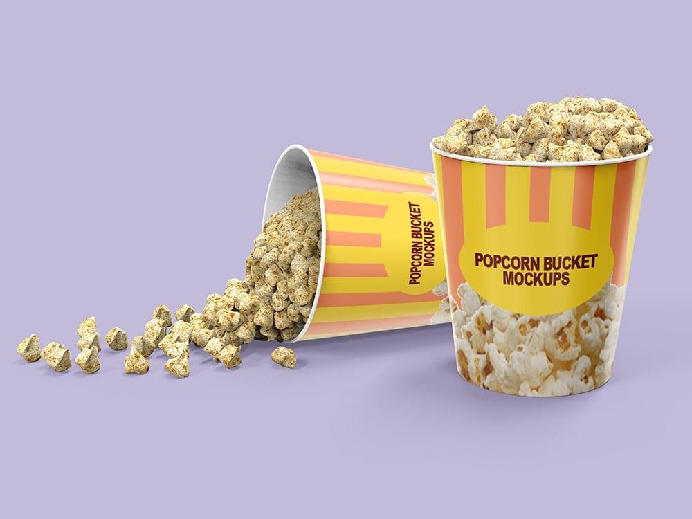 Popcorn Bucket Packaging