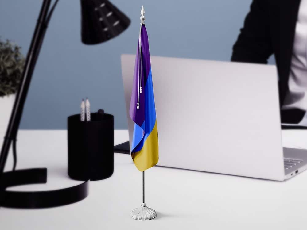 Table Mini Flag Mockups 01