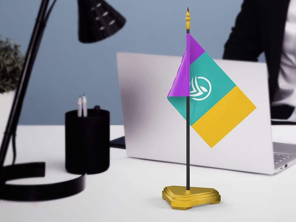 Table Mini Flag Mockups 03