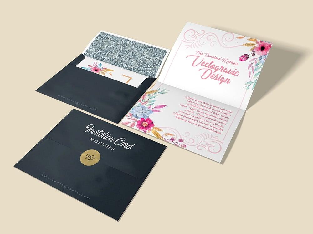 A2 Invitation Envelope Mockups 01