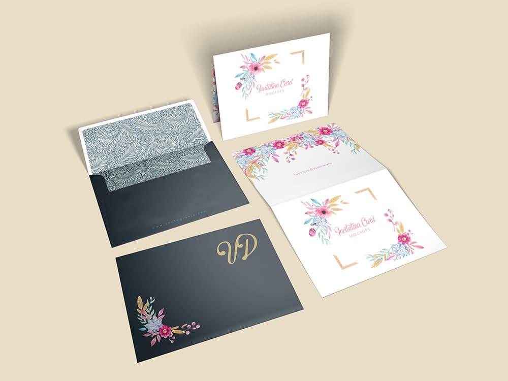A2 Invitation Envelope Mockups 02