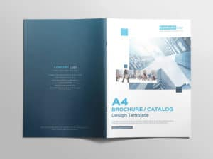Multipurpose A4 Brochure Catalog Design Template