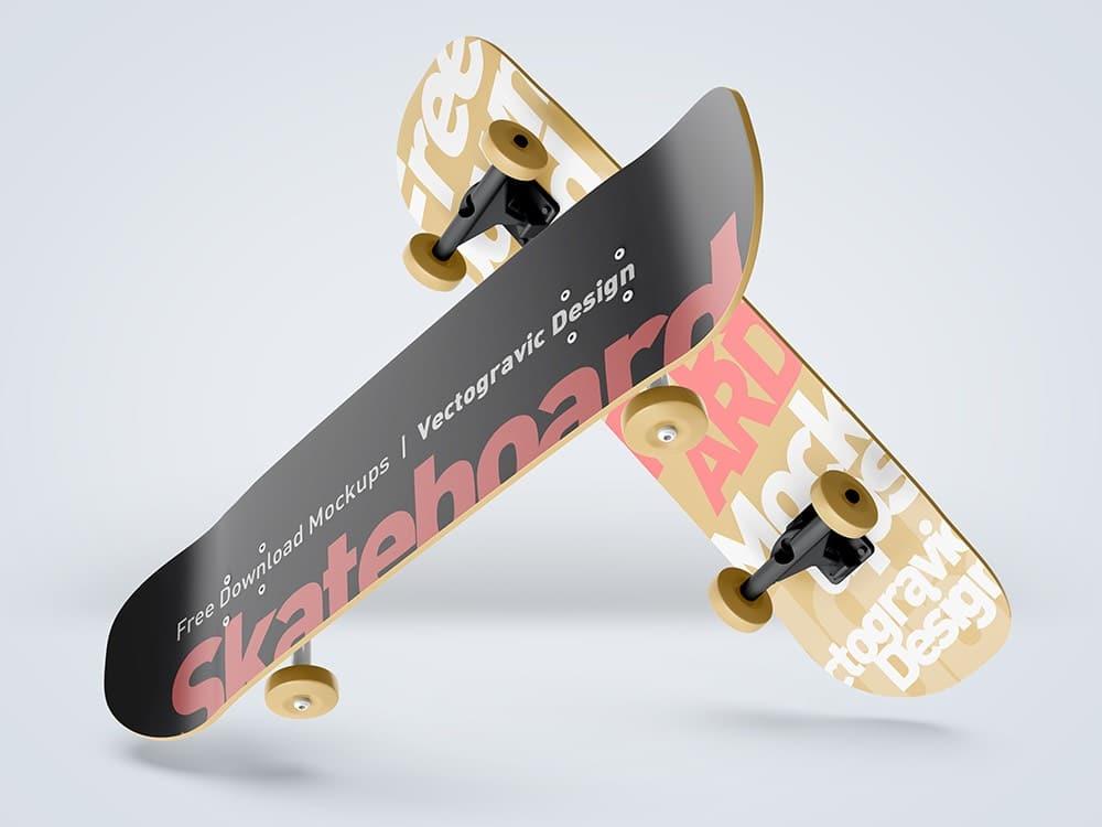 Skateboard Mockups 02