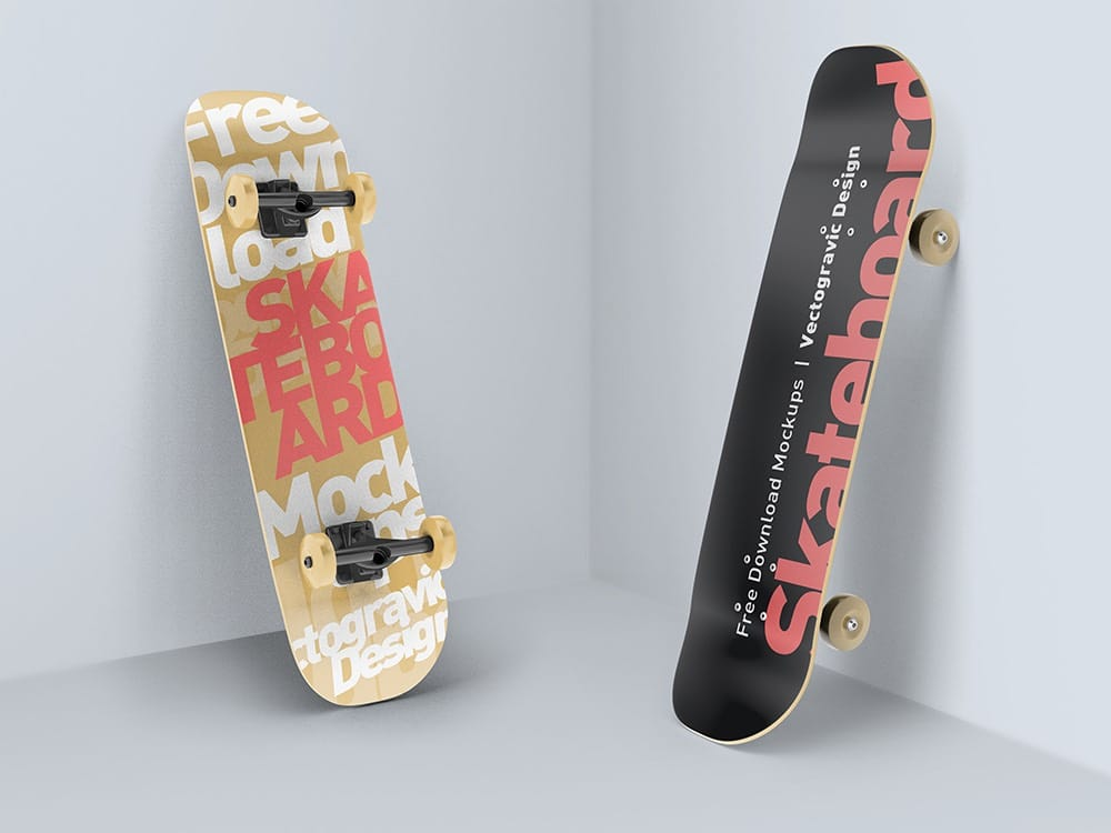 Skateboard Mockups 03
