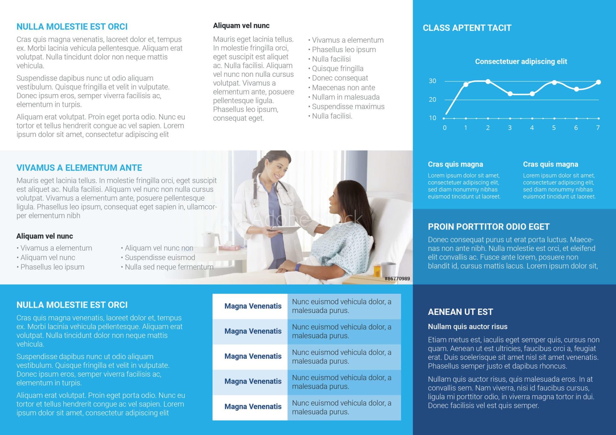 Health Medicare Tri fold Flyer Template plain 02
