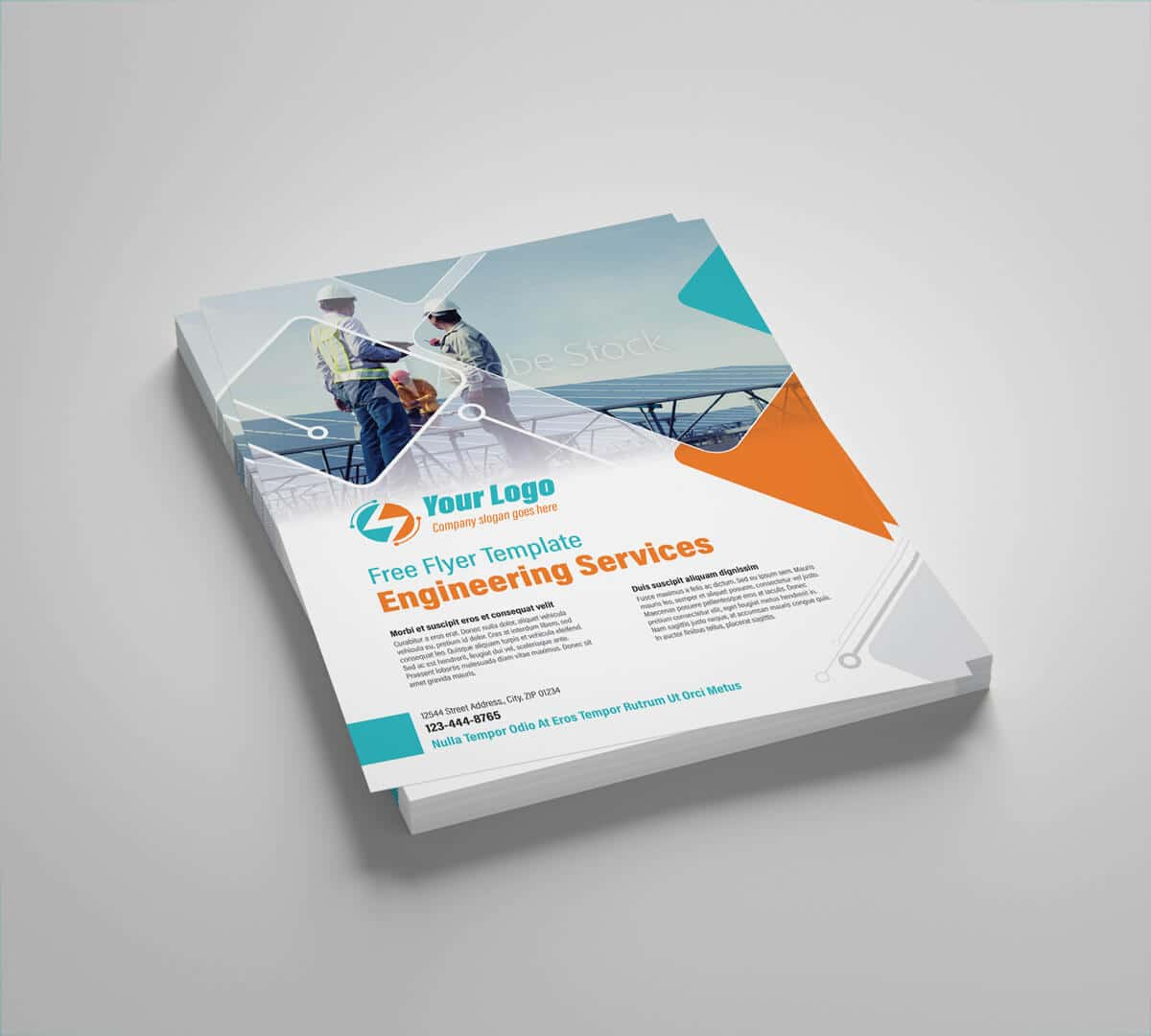 Power Engineering Services Flyer Template 02