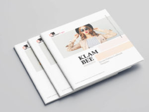 KLAMBEE - Square Fashion Lookbook Template