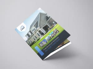 Residential Real Estate Half Fold Brochure Template