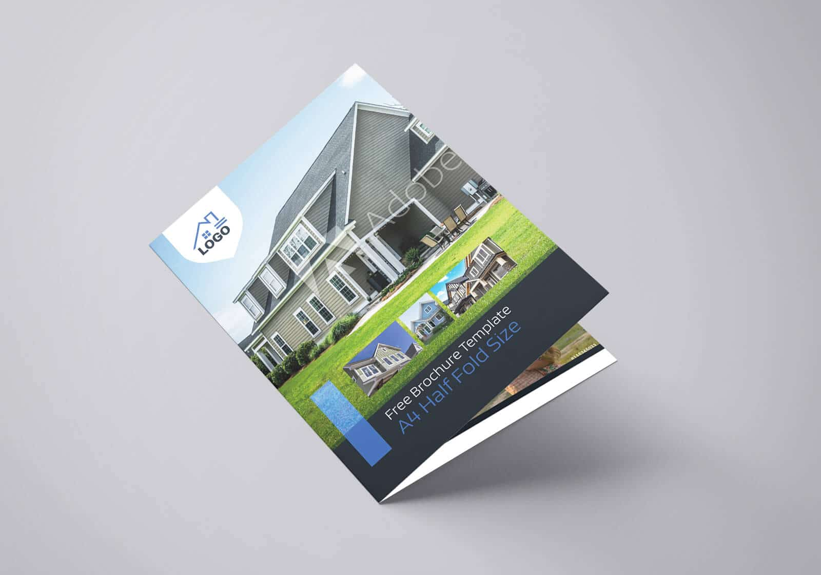 Residential Real Estate Half Fold Brochure Template 01 1