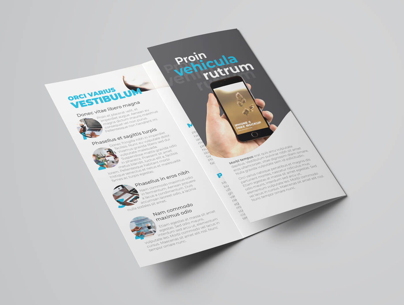 Multipurpose Trifold Flyer Template 03