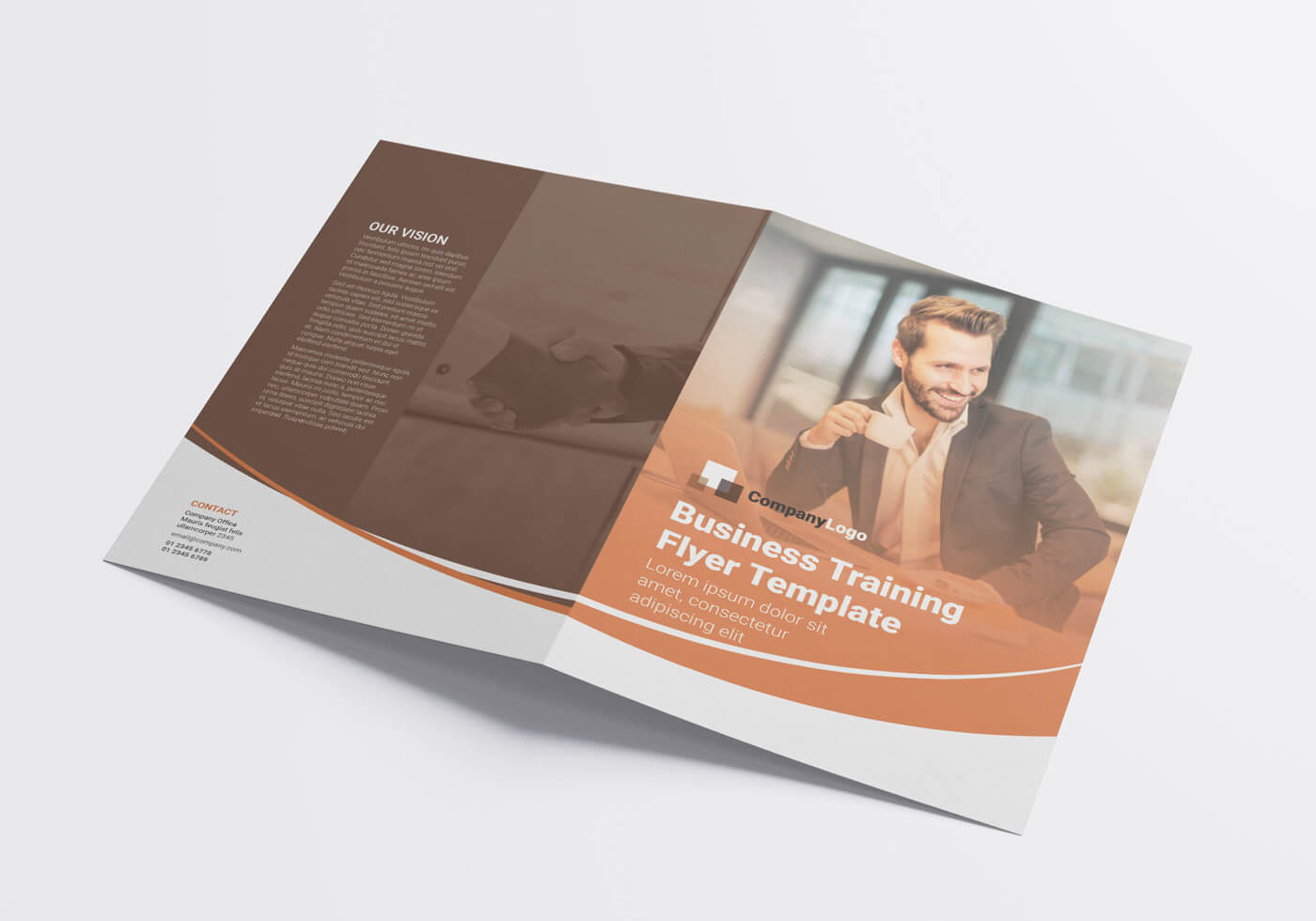 Business Training Flyer Template 03