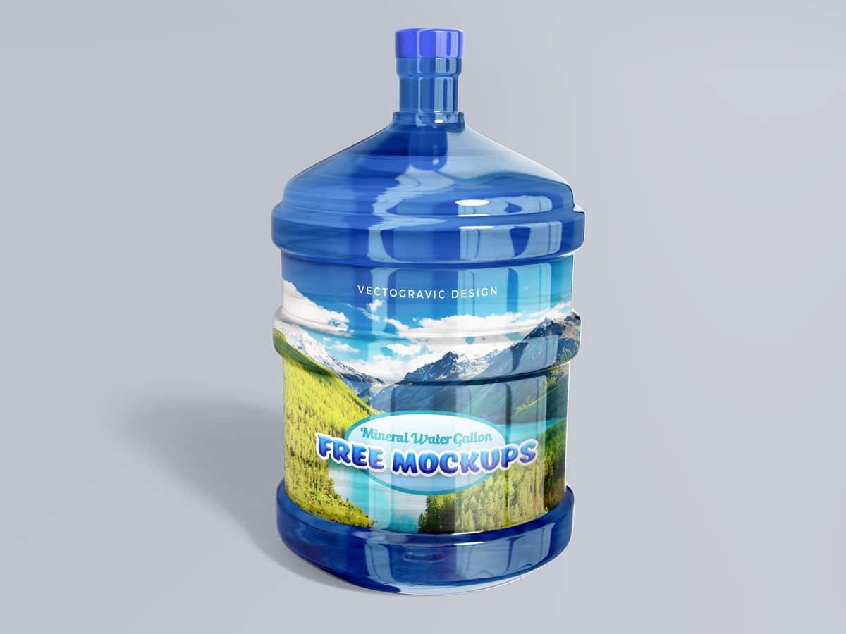 Water Gallon Mockups
