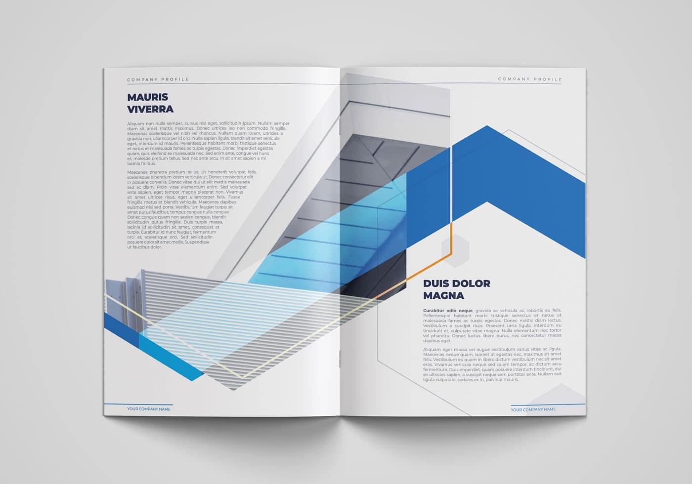 Architect Company Profile Booklet Template